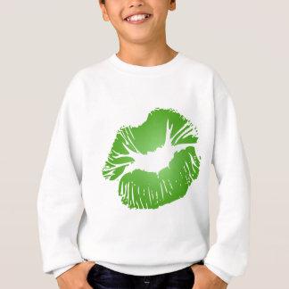 Grön läppar tshirts