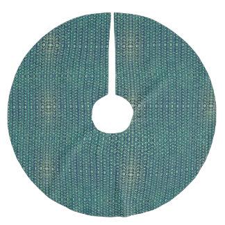 Grön Look för ringbrynjametallpansar Julgransmatta Borstad Polyester