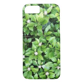 Grön löviphone case