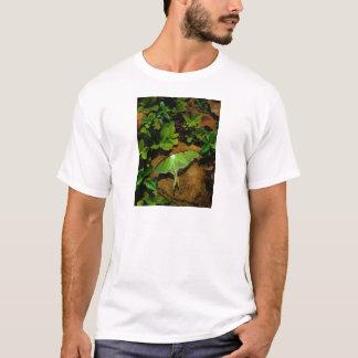 Grön Luna för jätte mal Tshirts