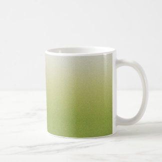 Grön lutning kaffemugg