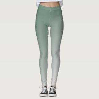 Grön lutning leggings