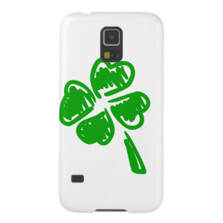 Grön lycklig berlockSt Patrick dag Galaxy S5 Fodral
