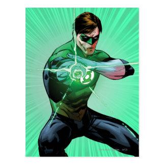 Grön lykta & glödande ring vykort