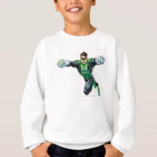 Grön lykta - tecknad som framåtriktat tittar t-shirts