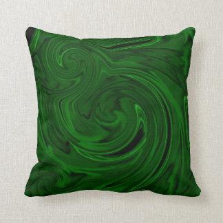 grön malachite för struktur kudde