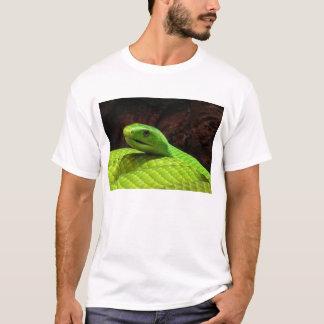 Grön MambaDendroaspis Angusticeps för östra Tee Shirts