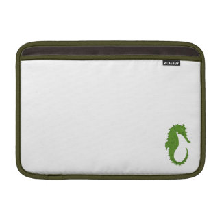 Grön MossSeahorse MacBook Sleeve