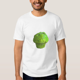 Grön muffin som är höger tröja