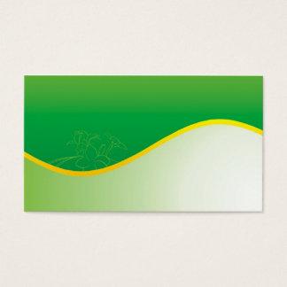 grön natur visitkort