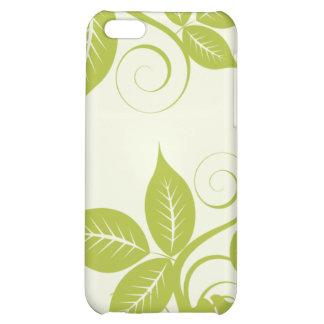 Grön öblommigt för 4 limefrukt iPhone 5C mobil skal