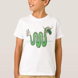 Grön orm tee shirts
