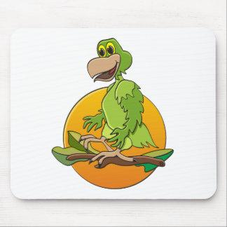 Grön papegoja musmatta