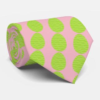 Grön påskägg för vår slips