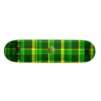 grön pläd grön pläd grön pläd limefrukt Li… Skate Board