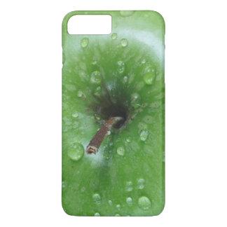 Grön plus för Apple iPhone 7, knappt där