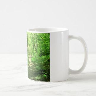 Grön skog kaffemugg
