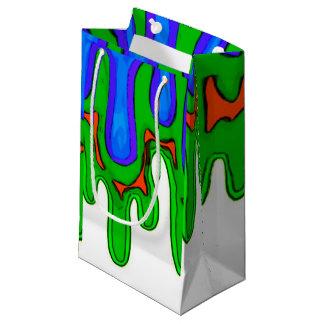 Grön Slime hänger lös