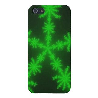 Grön snöflingoriPhone 5 iPhone 5 Skydd
