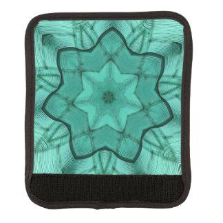 grön stjärna för neon - abstrakt modern handtagsskydd