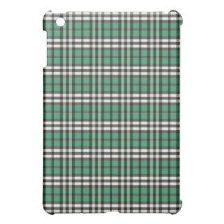 Grön/svart pläd Pern iPad Mini Mobil Skal