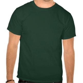 Grön T-tröja för Karl Pilkington apor