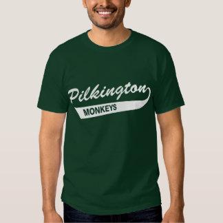 Grön T-tröja för Karl Pilkington apor T Shirts