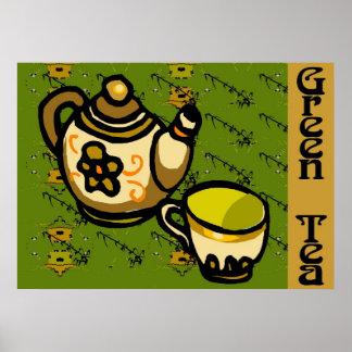 Grön Tea Poster