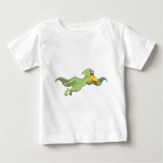 Grön tecknad för Pterodactyl T-shirts