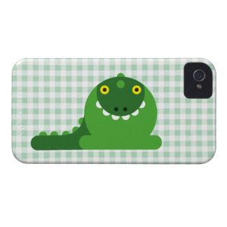 Grön tokig drake