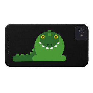 Grön tokig drake iPhone 4 Case-Mate fodraler
