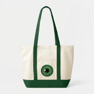 Grön tote bags för anpassningsbar för coola för