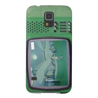 Grön TV Galaxy S5 Fodral