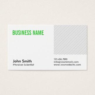 Grön visitkort för titelläkarundersökningforskare