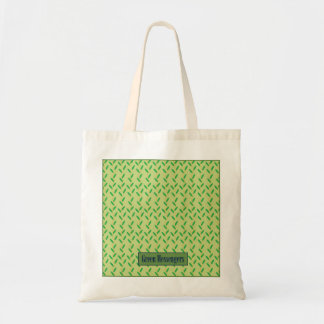 gröna budbärare hänger lös kasse