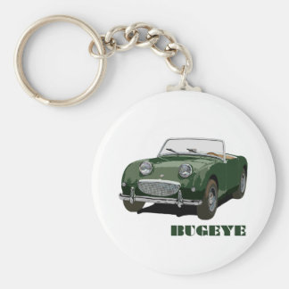 Gröna Bugeye Rund Nyckelring