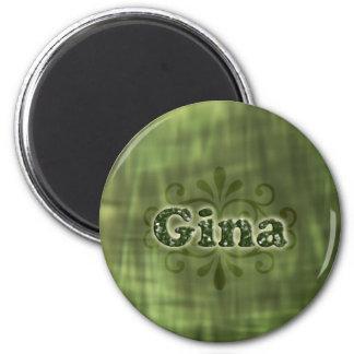 Gröna Gina Magnet