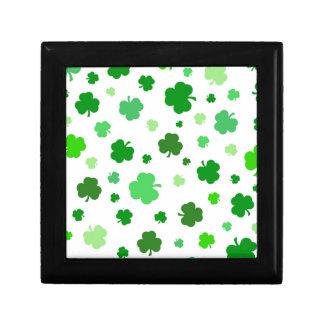 Gröna irländska Shamrocks Minnesask