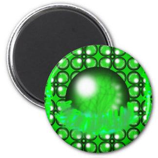 Gröna Orbs Magnet
