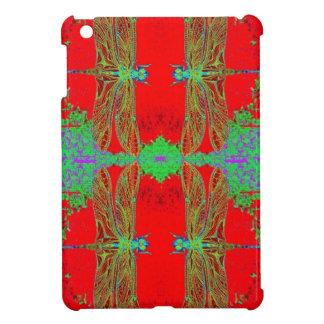 Gröna sländor, kinesiska röda gåvor vid Sharles iPad Mini Skydd