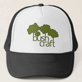 Gröna träd, buskehantverk keps
