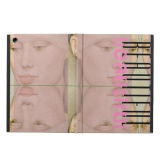 Grönögd skönhet för vintage fodral för iPad air