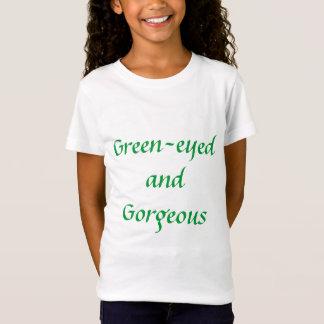 Grönögt och ursnyggt t-shirt