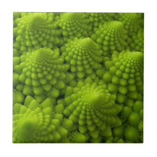 Grönsak för Romanesco broccoliFractal Kakelplatta