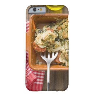 Grönsaken bakar med potatisar, tomater, leeks barely there iPhone 6 skal