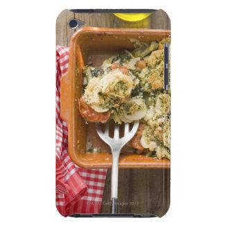 Grönsaken bakar med potatisar, tomater, leeks iPod Case-Mate case