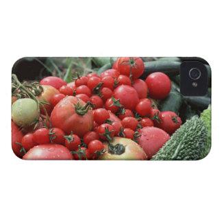 Grönsaker 4 Case-Mate iPhone 4 fodraler
