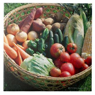 Grönsaker 5 kakelplatta