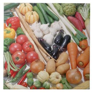 Grönsaker 6 kakelplatta