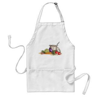Grönsaker - förkläde